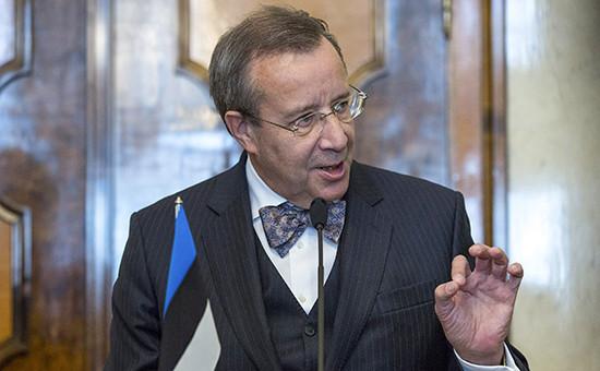 Президент Эстонии Тоомас Ильвес