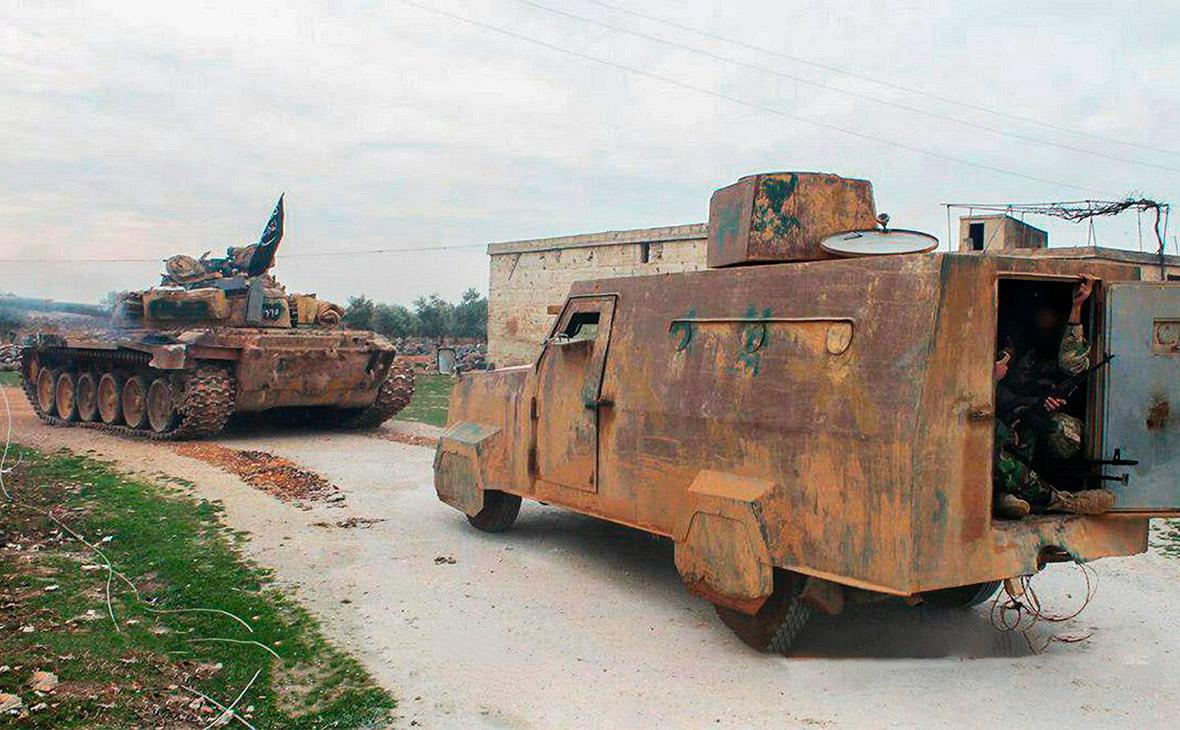 Боевики ИГ (запрещенной в России организации) вИдлибе
