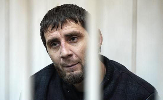 Подозреваемый вубийстве политика Бориса Немцова Заур Дадаев