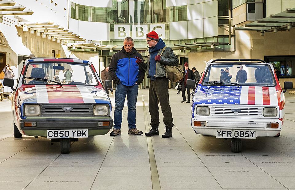 Ведущие обновленного шоу Top GearМэтт ЛеБлан и Крис Эванс