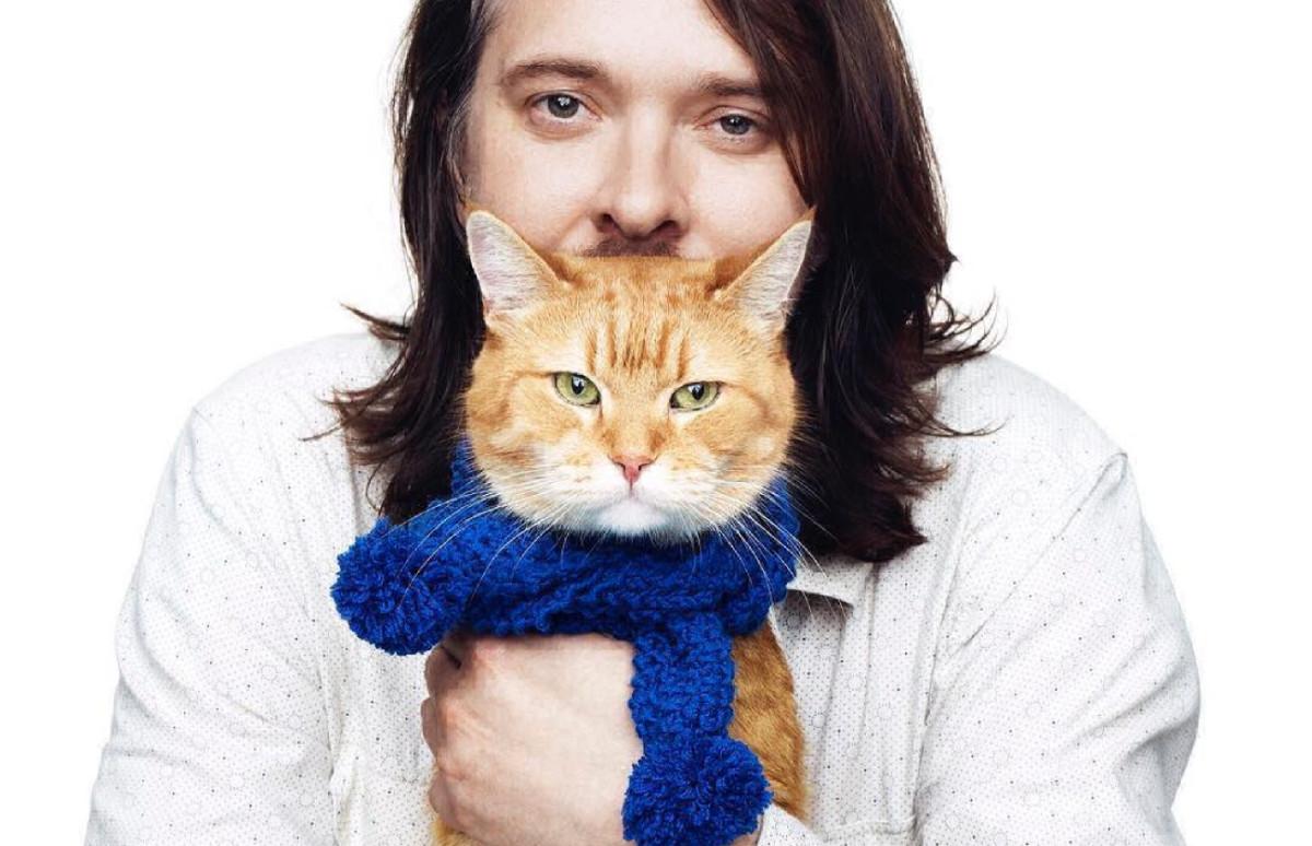 Джеймс Боуэн и кот Боб