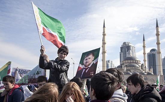 Празднование Дня народного единства вГрозном, 2015 год