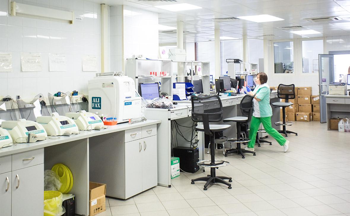 В лаборатории «Инвитро»