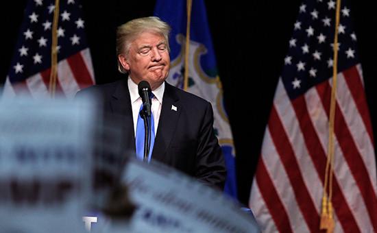 Кандидат впрезиденты США Дональд Трамп