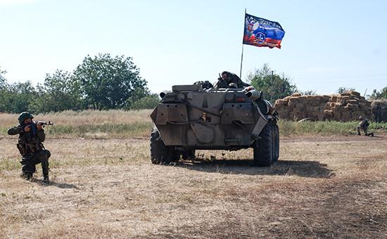 Ополченцы Донецкой народной республики. Архив