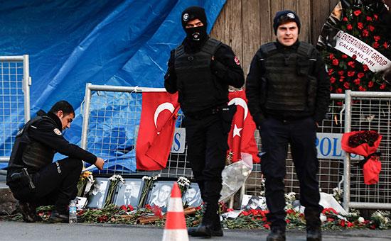 Турецкие полицейские уночного клуба Reina