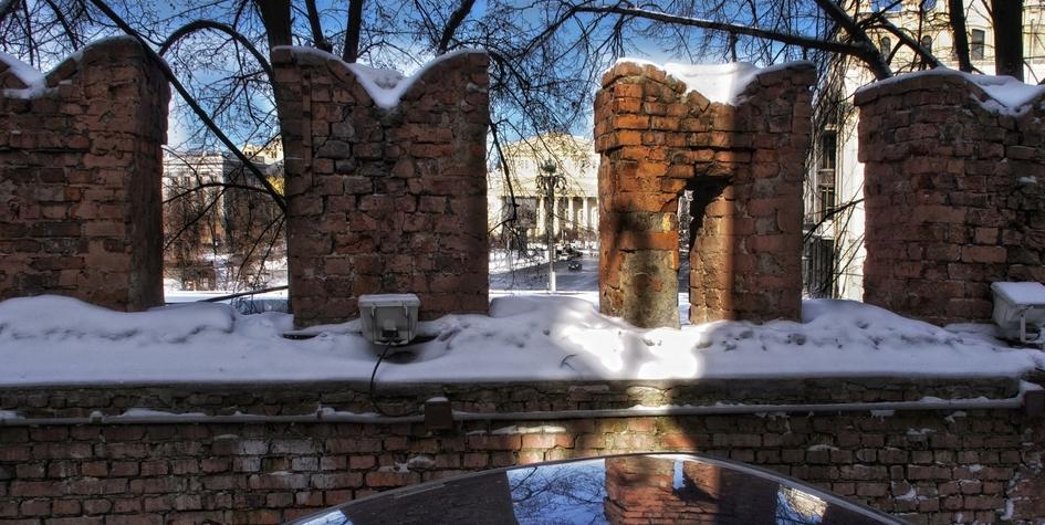 Китайгородская крепостная стена