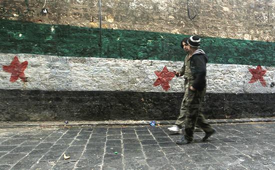 Оппозиционеры «Свободной сирийской армии»