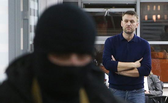 Оппозиционер Алексей Навальныйв офисе Фонда борьбы с коррупцией. 2015 год