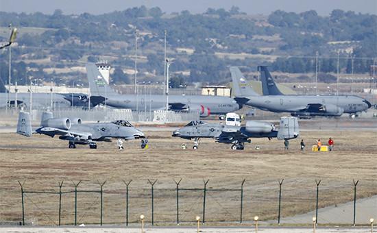 Авиабаза Инджирлик в Турции. 2015 год