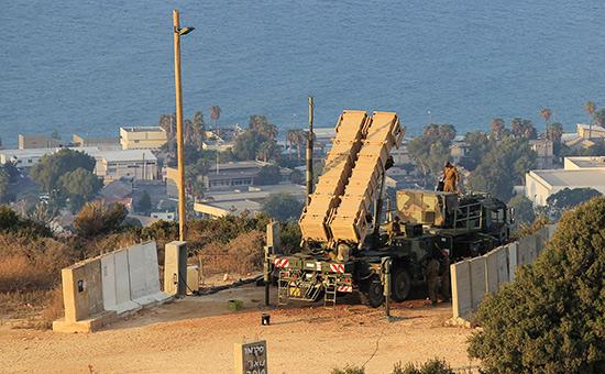 Комплекс Patriot вИзраиле