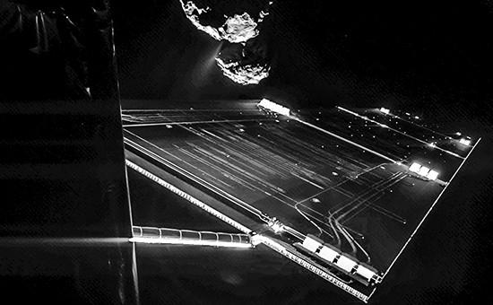 Зонд Philae в 16 км от поверхности  кометы 67P/Чурюмова-Герасименко
