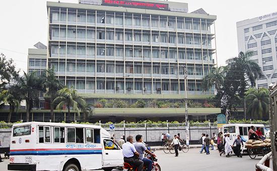 Здание Центрального банка Бангладеш в Дакке