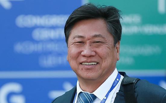Вице-президент «Роснефти» поматериально-техническому обеспечению Сергей Цой