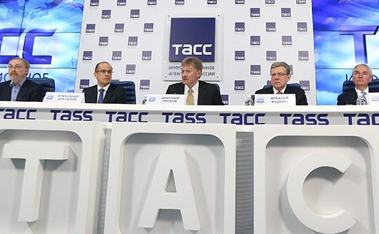 Круглый стол, посвященный 15-летию Владимира Путина во главе России