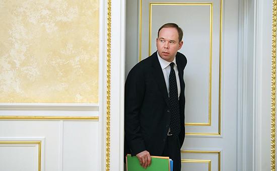 Новый глава администрации президента Антон Вайно
