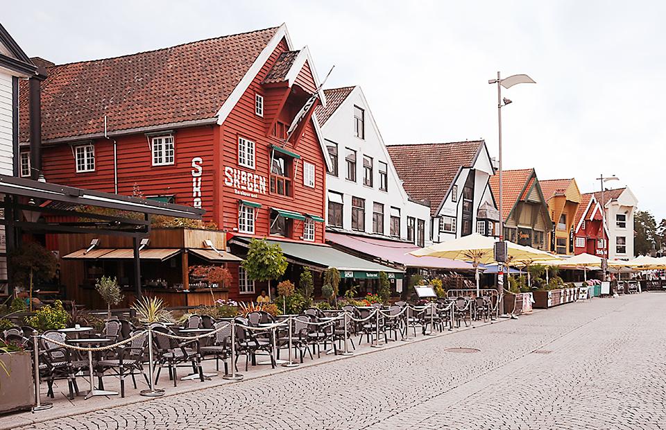 В Ставангере больше 8000 деревянных домов — самые старые датируются XVIII веком