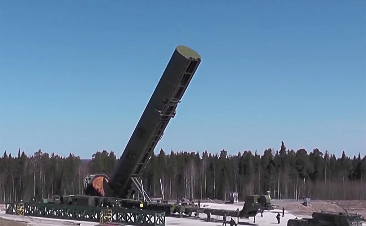 Ракетный комплекс РС-28 «Сармат»