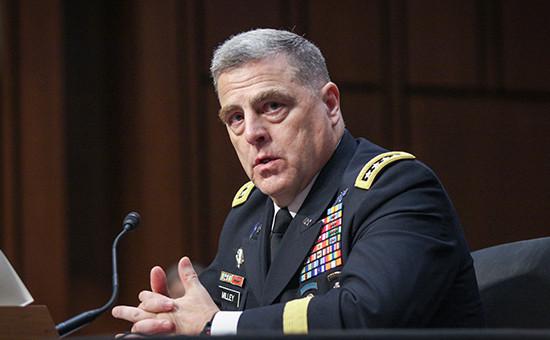 Кандидат на пост начальника штаба армии США генерал Марк Милли