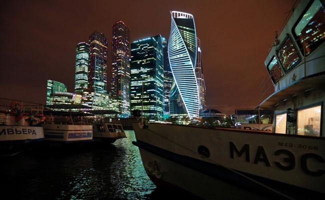 Вид наделовой центр «Москва-Сити»