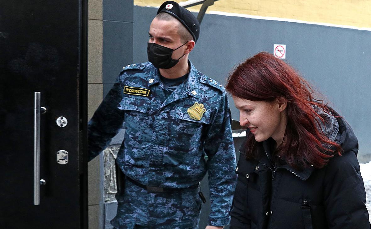 Кира Ярмыш у Савеловского суда