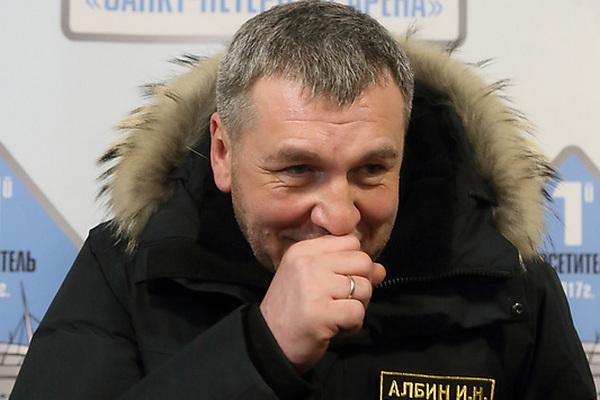 Вице-губернатор Петербурга Игорь Албин
