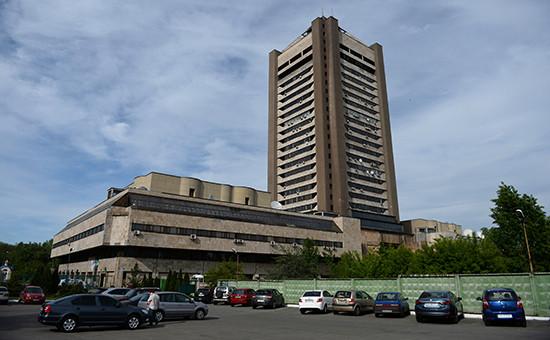 Здание Киевского телецентра