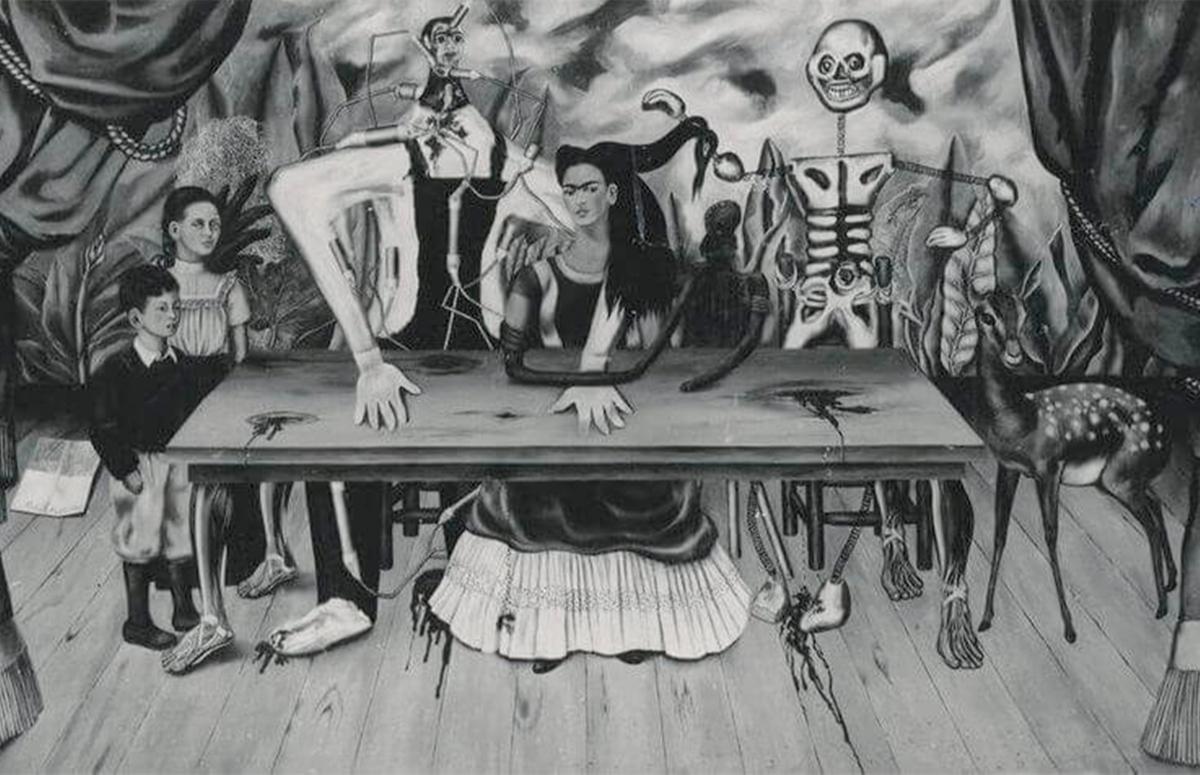 Фрида Кало, «Раненый стол», 1940