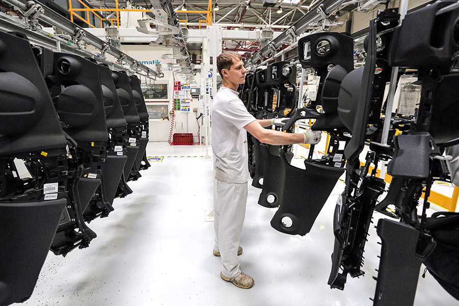 Завод по производству автомобильных компонентов в России