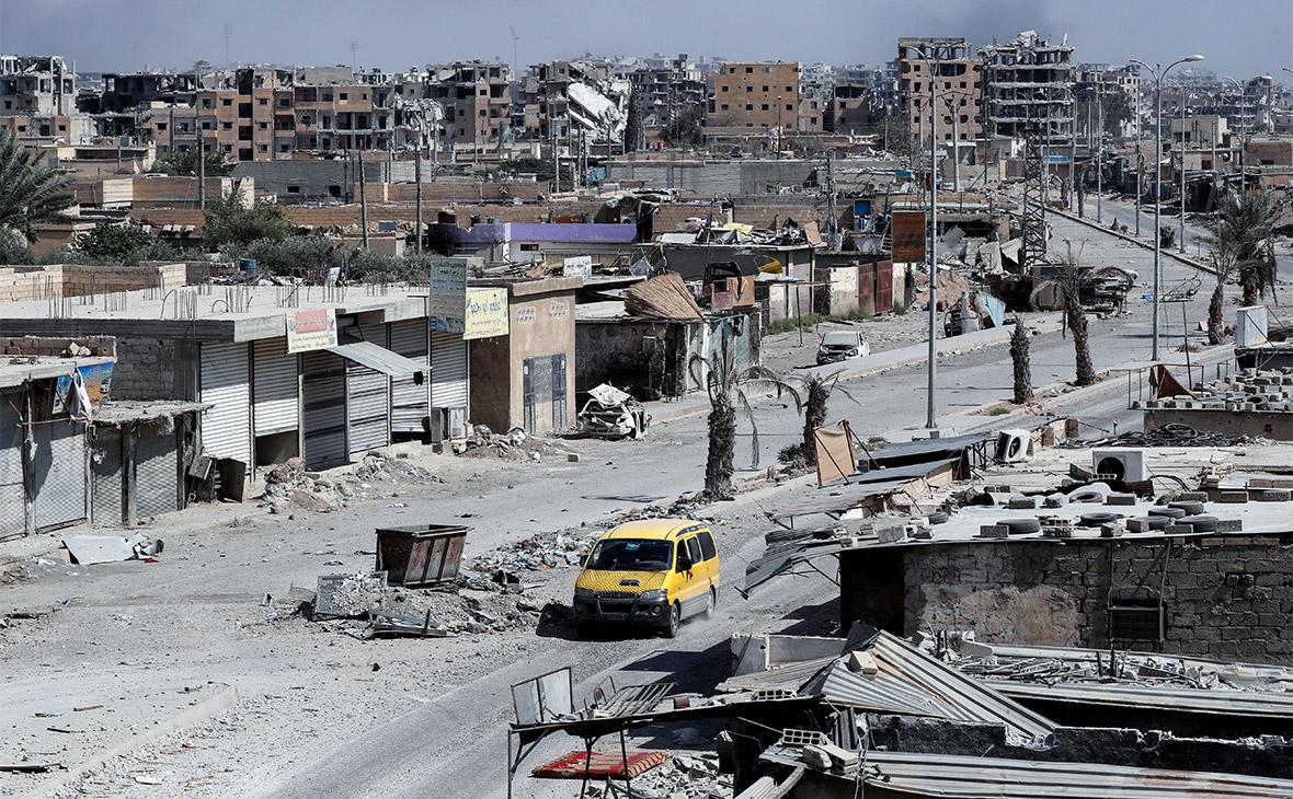 На улицах Ракки