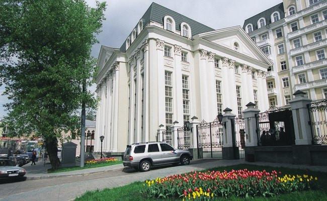 Здания на улице Остоженка в Москве