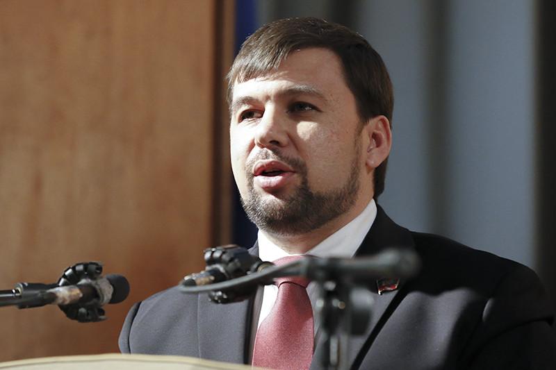 Официальный представитель ДНР Денис Пушилин