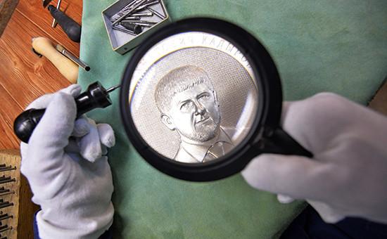 Серия медальных монет «Кадыров Рамзан Ахматович»