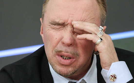 Музыкант Гарик Сукачев