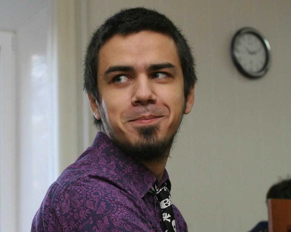 новосибирский художник и активист Артем Лоскутов