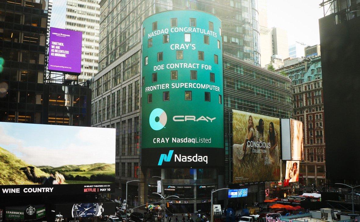 Фото: официальный твиттер Cray Inc.
