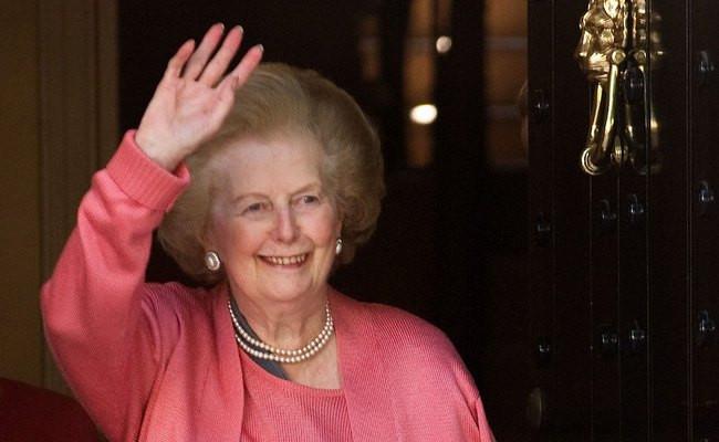 Экс-премьер-министр Великобритании Маргарет Тэтчер
