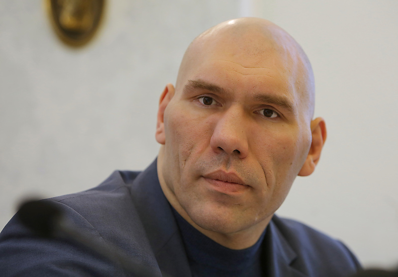 Депутат Госдумы РФ и боксер Николай Валуев
