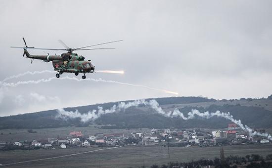 Учения подразделений внутренних войск МВД России вСимферопольском районе