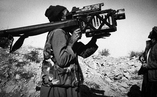 ПЗРКStinger производства США в Афганистане. 1991 год