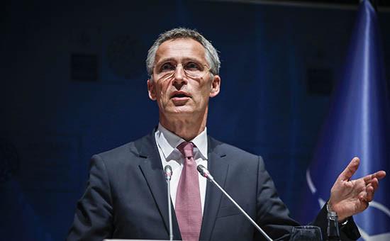 Генсек НАТО Йенс Столтенберг