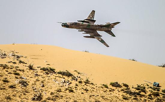Самолет сирийскихВВС. Фото 25 марта 2016года