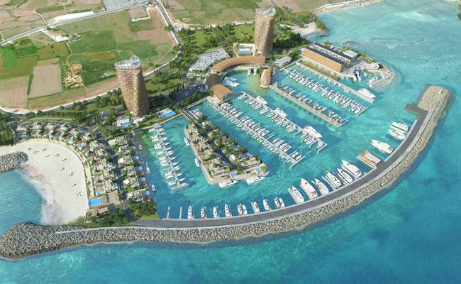 Проект нового курорта на Кипре