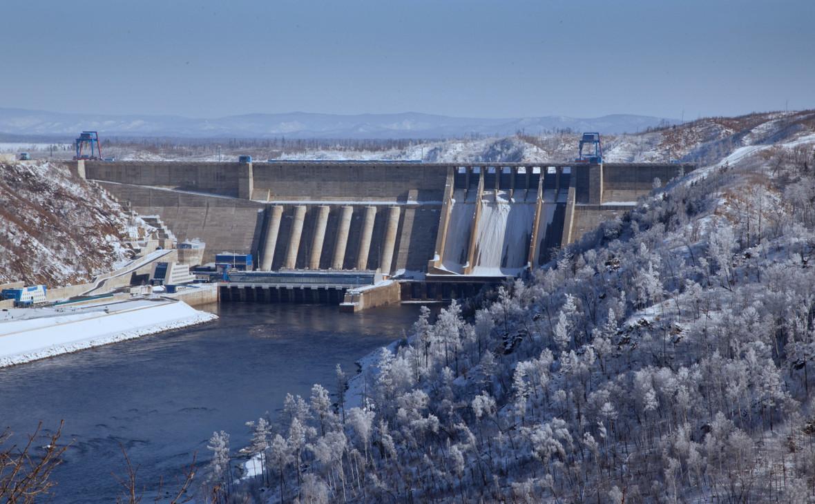 Бурейская ГЭСв Амурской области