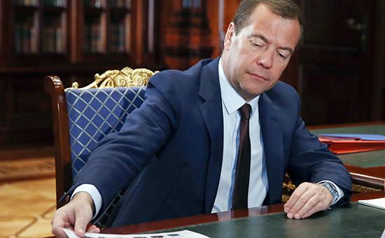 Премьер-министр РФДмитрий Медведев
