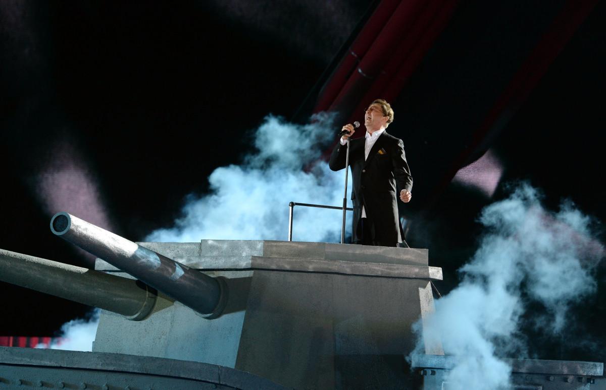 Выступление Григория Лепса на концерте, посвященном Дню победы