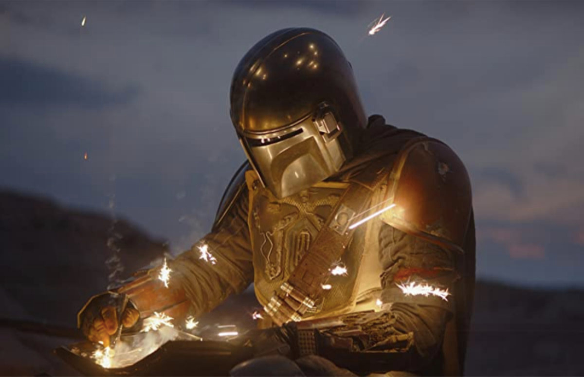 Кадр из сериала «Мандалорец»