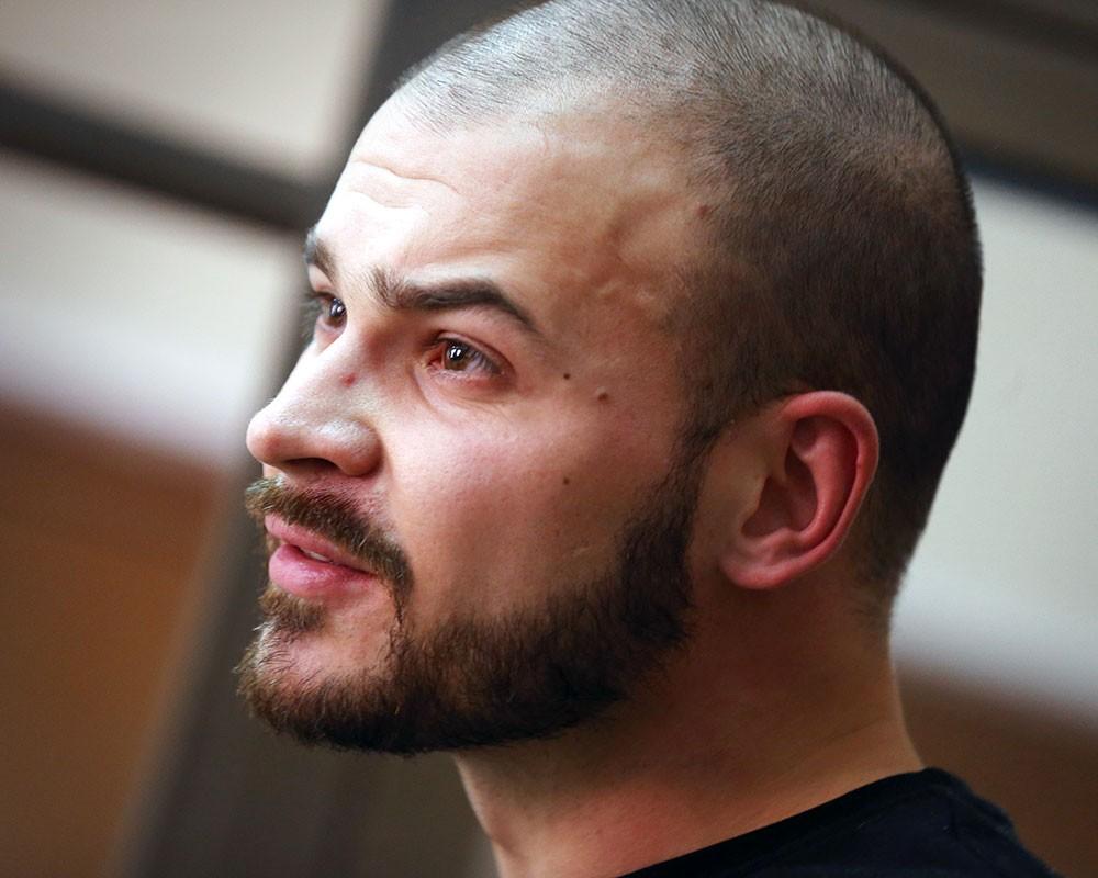 Националист Максим «Тесак» Марцинкевич