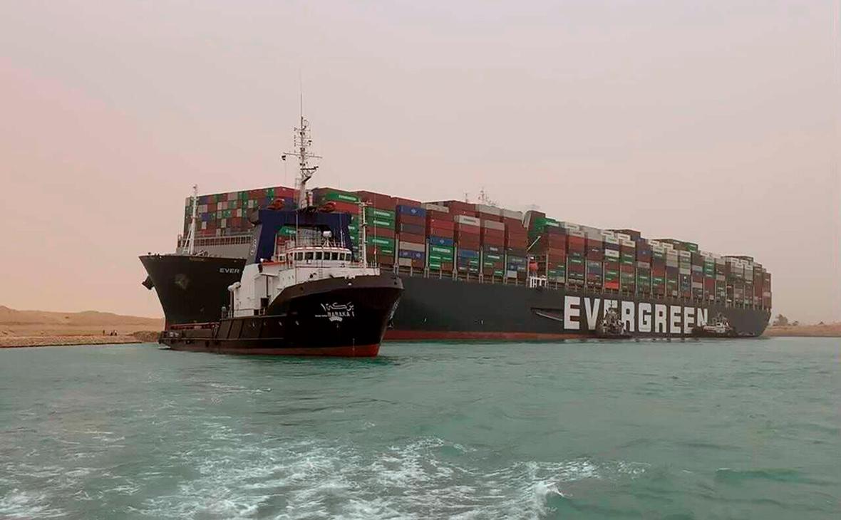 Фото: Suez Canal Authority / AP
