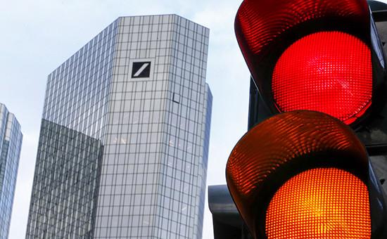 Штаб-квартира Deutsche Bank во Франкфурте
